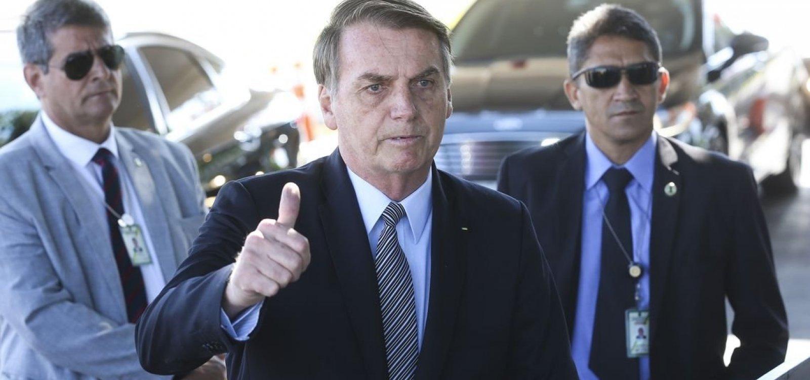 [Não quero tomar o PSL de ninguém, diz Bolsonaro sobre atritos com Bivar]