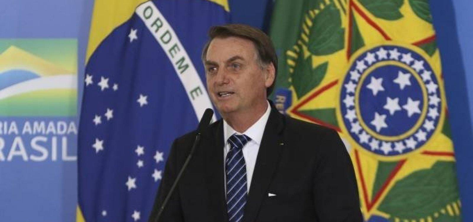 [Bolsonaro assina MP para resolver situação dos 1,9 mi de devedores da União]