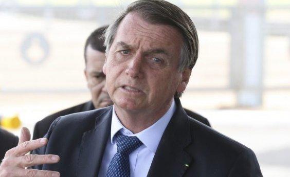 [Bolsonaro se reúne com Gilmar Mendes no Palácio do Planalto]