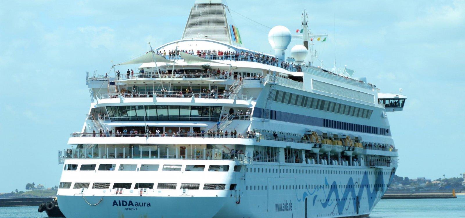 [Temporada de cruzeiros em Salvador começa hoje; capital deve receber mais de 60 navios]