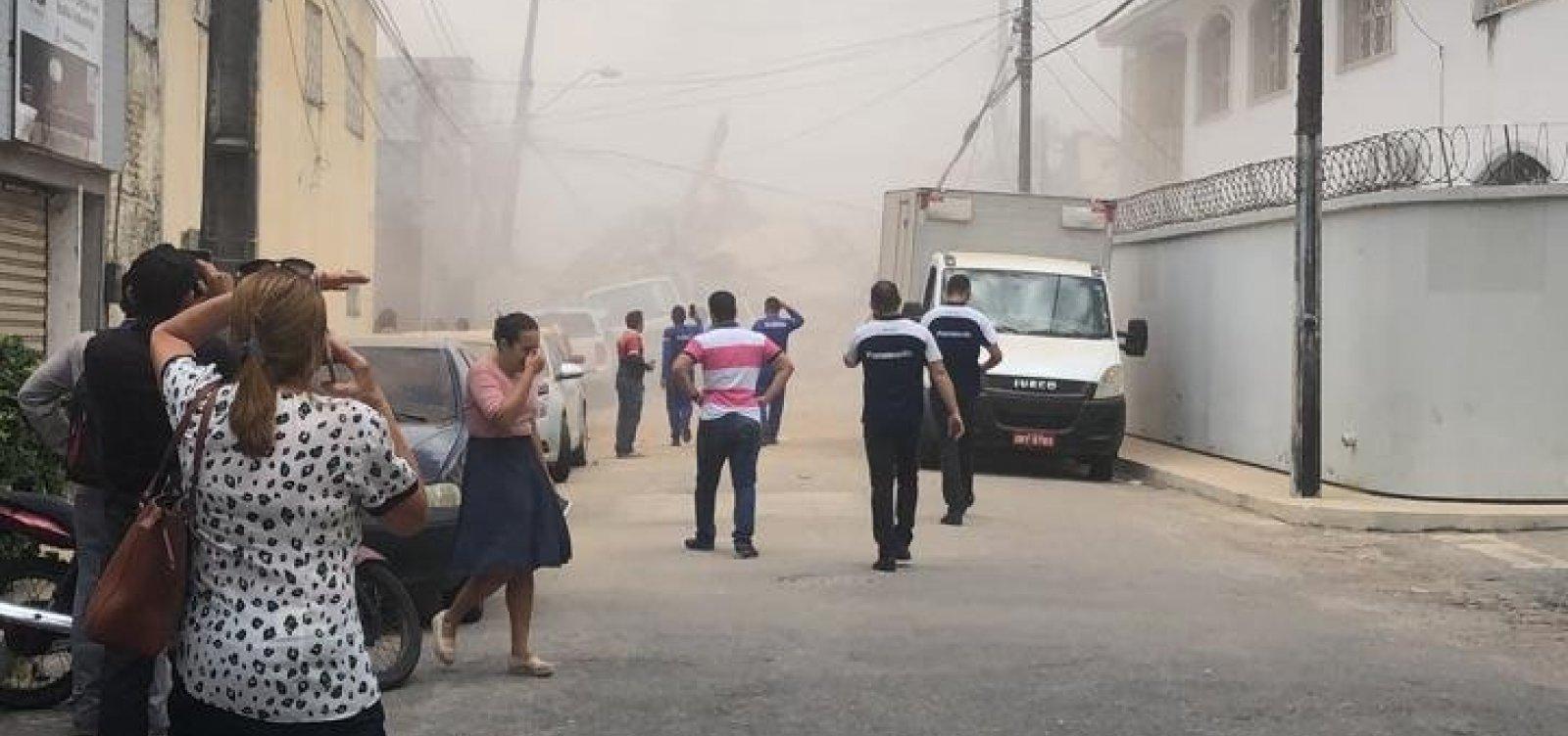 [Sobe para 5 o número de mortes em desabamento de prédio em Fortaleza]