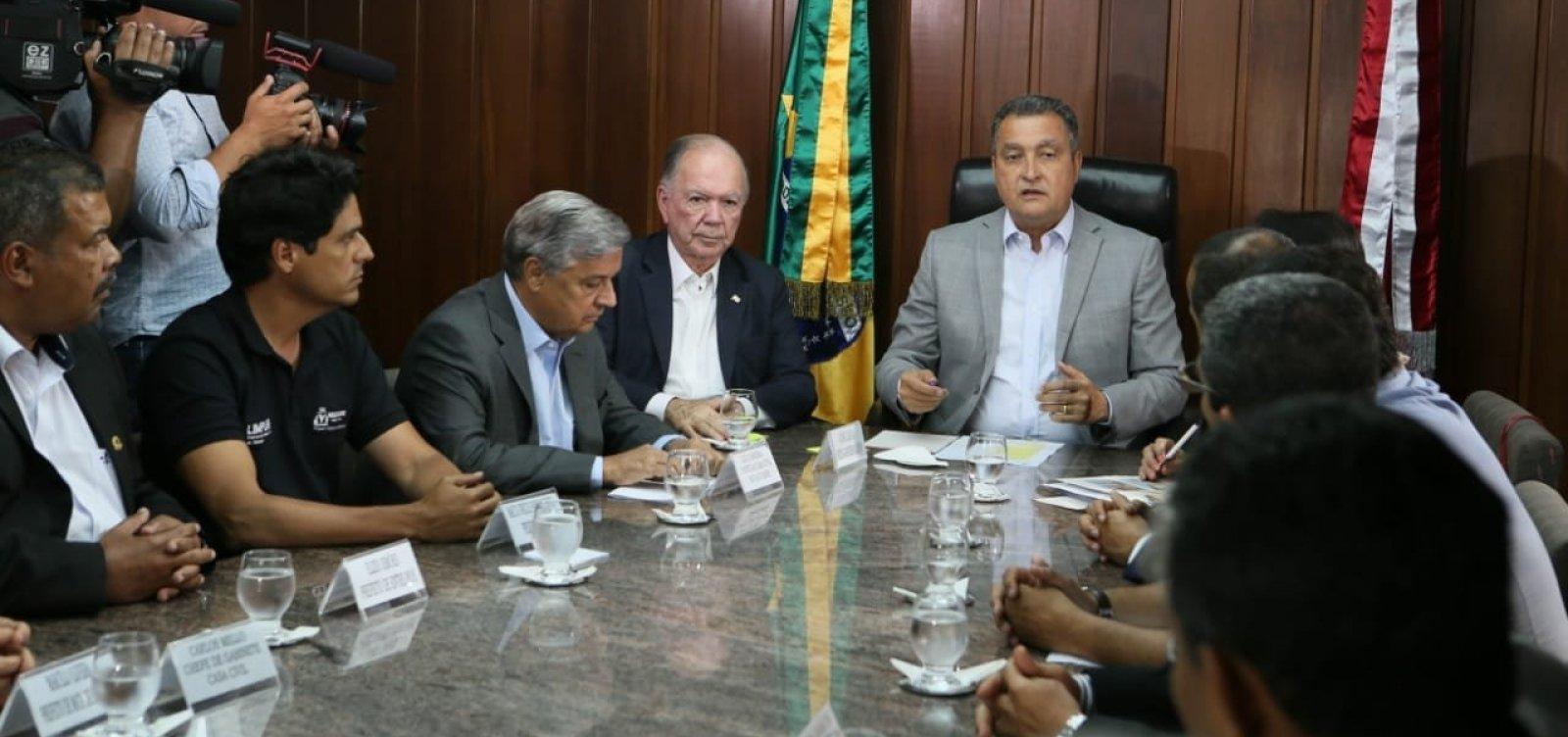 [Rui cobra medidas do governo federal contra manchas de óleo na Bahia]