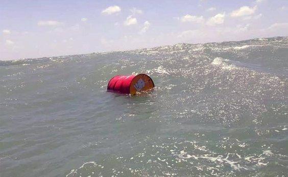 [Marinha confirma que barril de óleo da Shell foi achado em Natal]