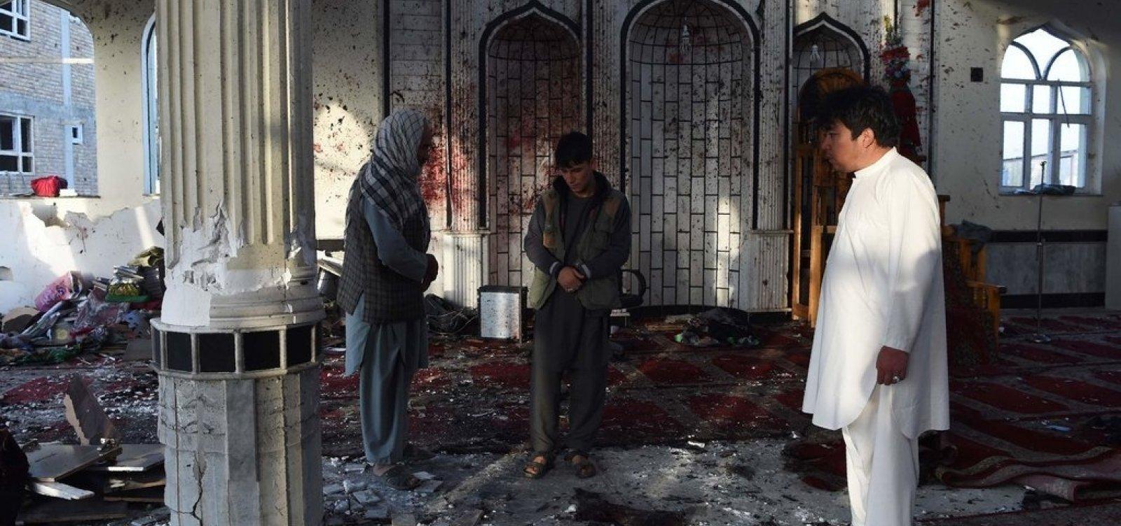 [Ataque a mesquita no Afeganistão deixa 62 mortos e 40 feridos]