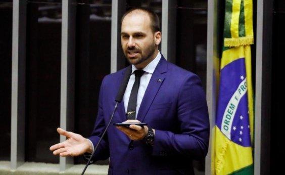[PSL deve suspender Eduardo Bolsonaro por críticas ao partido]