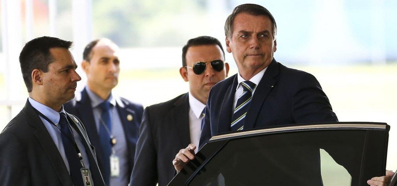 [Bolsonaro procura 'caciques da política' para evitar isolamento diante de crise com PSL]