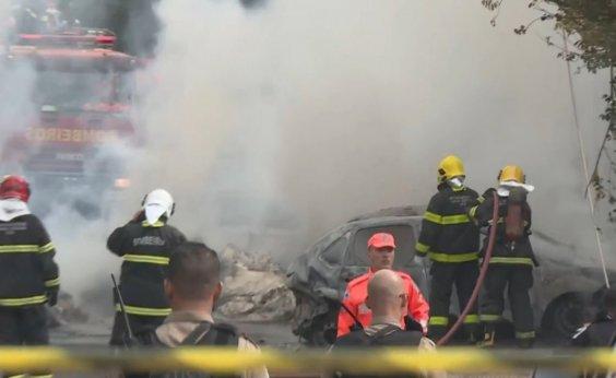 [Avião que caiu em BH decolou com destino a Ilhéus; três morreram]