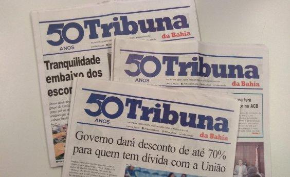 [Tribuna da Bahia completa 50 anos de fundação]
