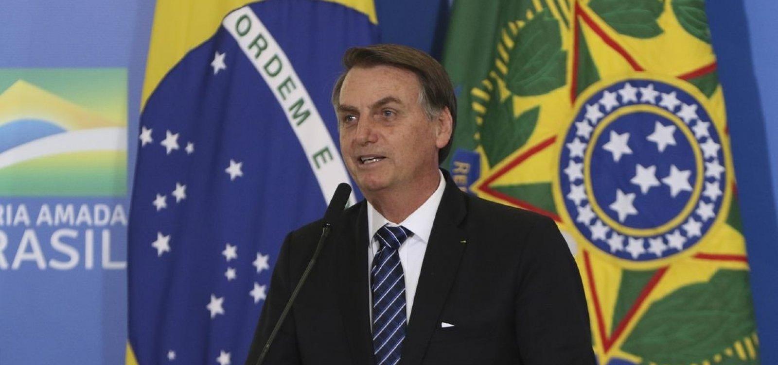 ['O bem vencerá o mal', diz Bolsonaro sobre crise no PSL]