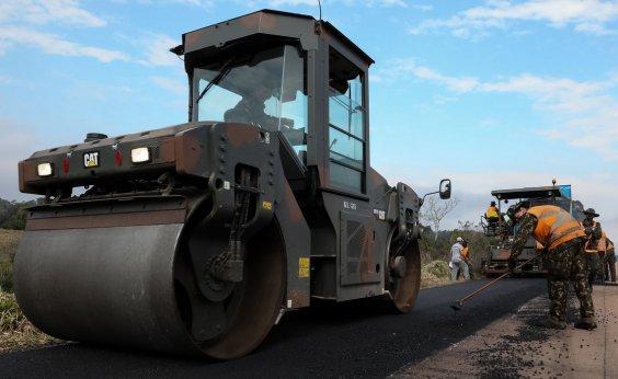 [59% das estradas federais estão em situação péssima, ruim ou regular]