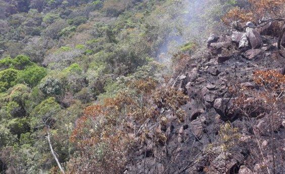 [Incêndios florestais são controlados em Rio de Contas e Livramento de Nossa Senhora]