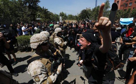 [Sobe para 18 nº de mortos em protestos no Chile; criança de 4 anos é uma das vítimas]