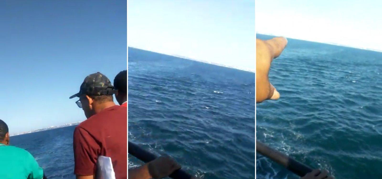 [Mulher cai de ferry-boat durante travessia São Joaquim-Bom Despacho]