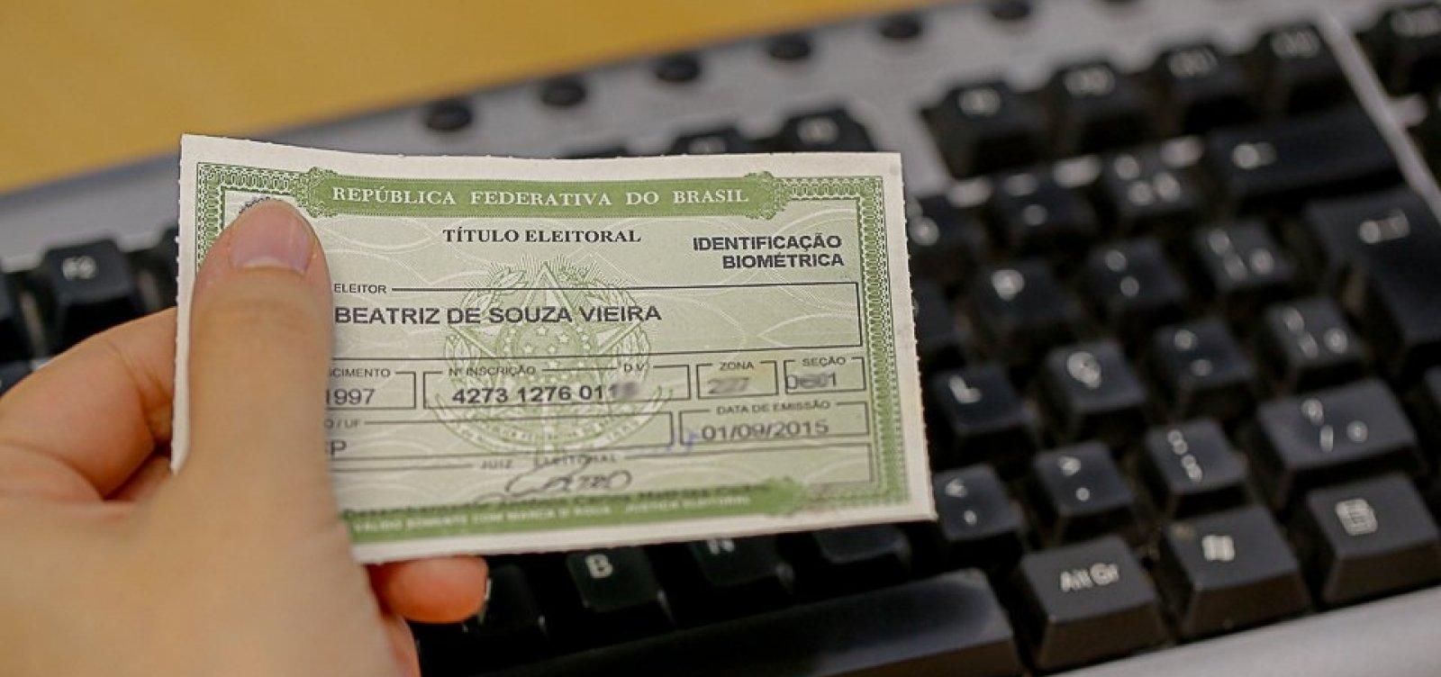 [Biometria: TRE-BA poderá cancelar mais de 140 mil títulos eleitorais na Bahia]