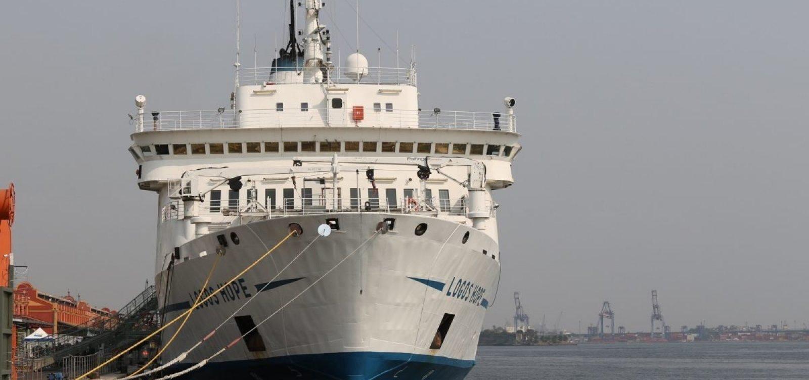 [Organização de navio diz que mensagem sobre 'crença em demônios' em Salvador não teve aprovação oficial]