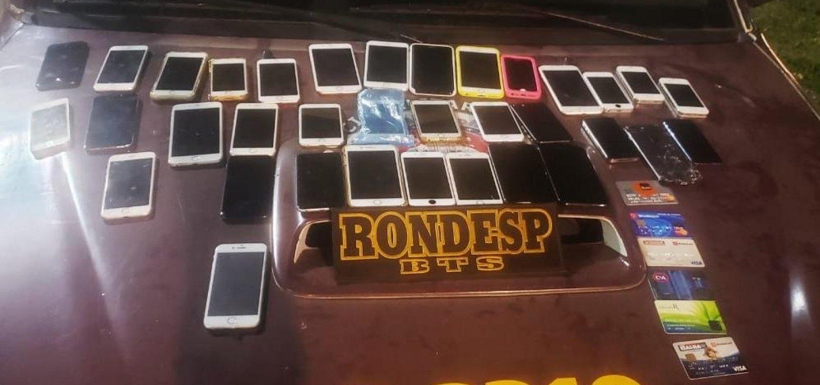 [Com ajuda de GPS, mais de 30 iPhones furtados em festa são recuperados pela PM]