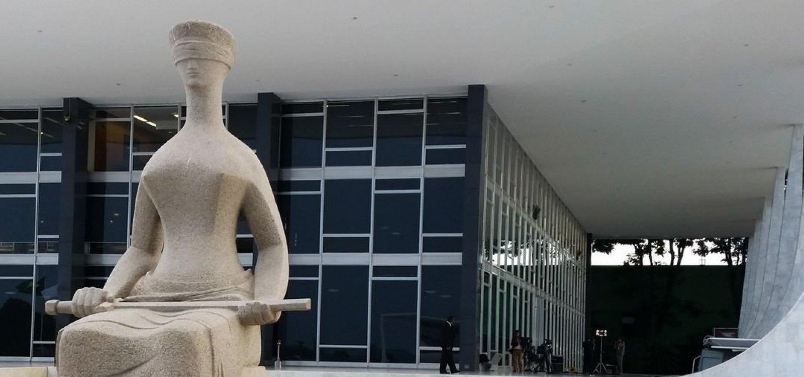[STF confirma que julgamento sobre prisão em 2ª instância será retomado dia 7 de novembro]