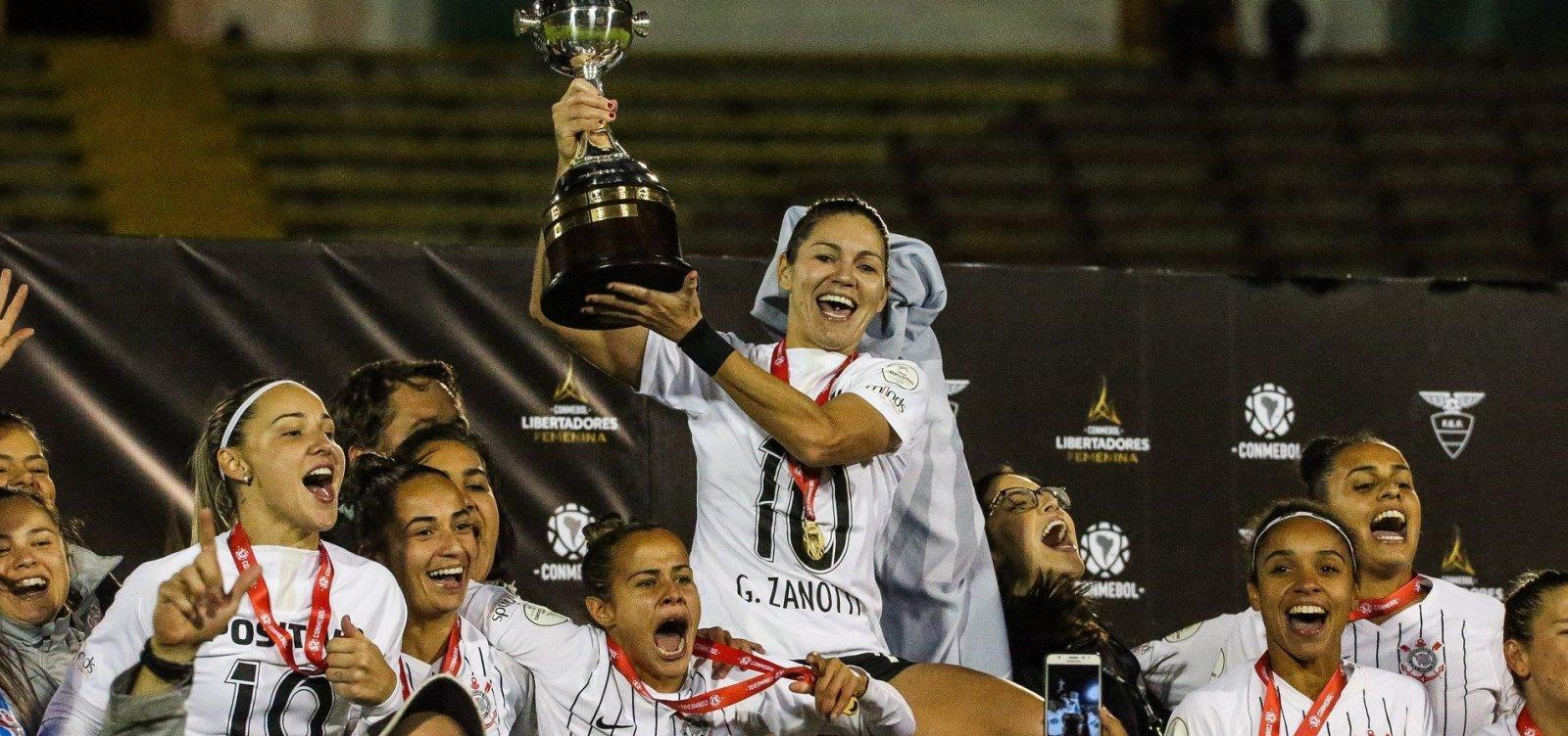 [Corinthians vence Ferroviária e é campeão da Libertadores Feminina]