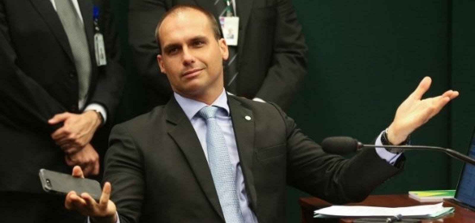 [Partidos reagem a declaração de Eduardo Bolsonaro sobre 'novo AI-5']