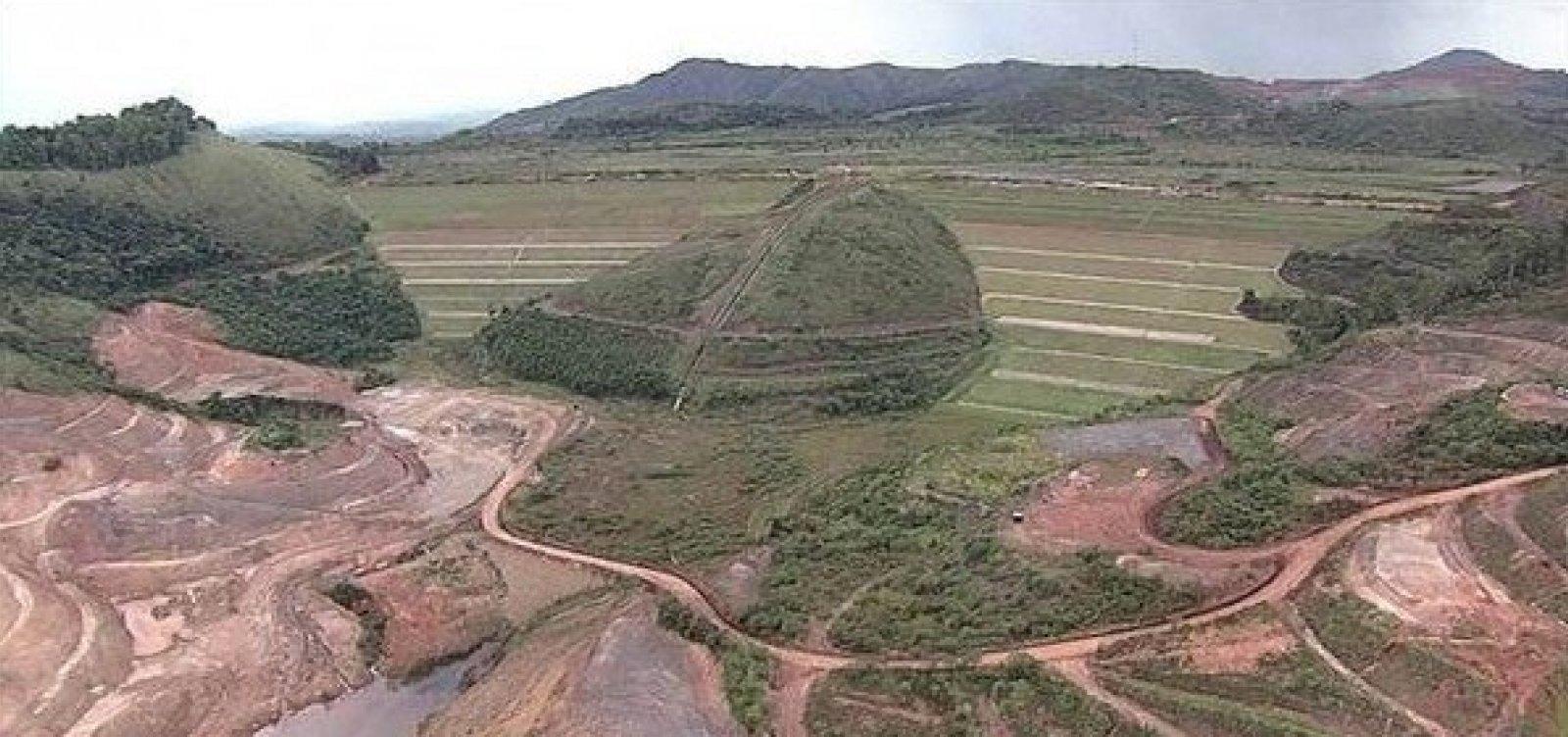 [Vale aciona protocolo de emergência em barragem de Ouro Preto]