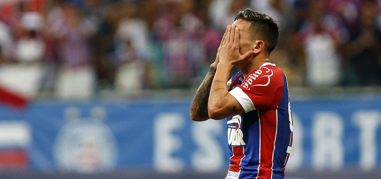 [Libertadores: chance do Bahia chegar ao G-4 cai para 1%]