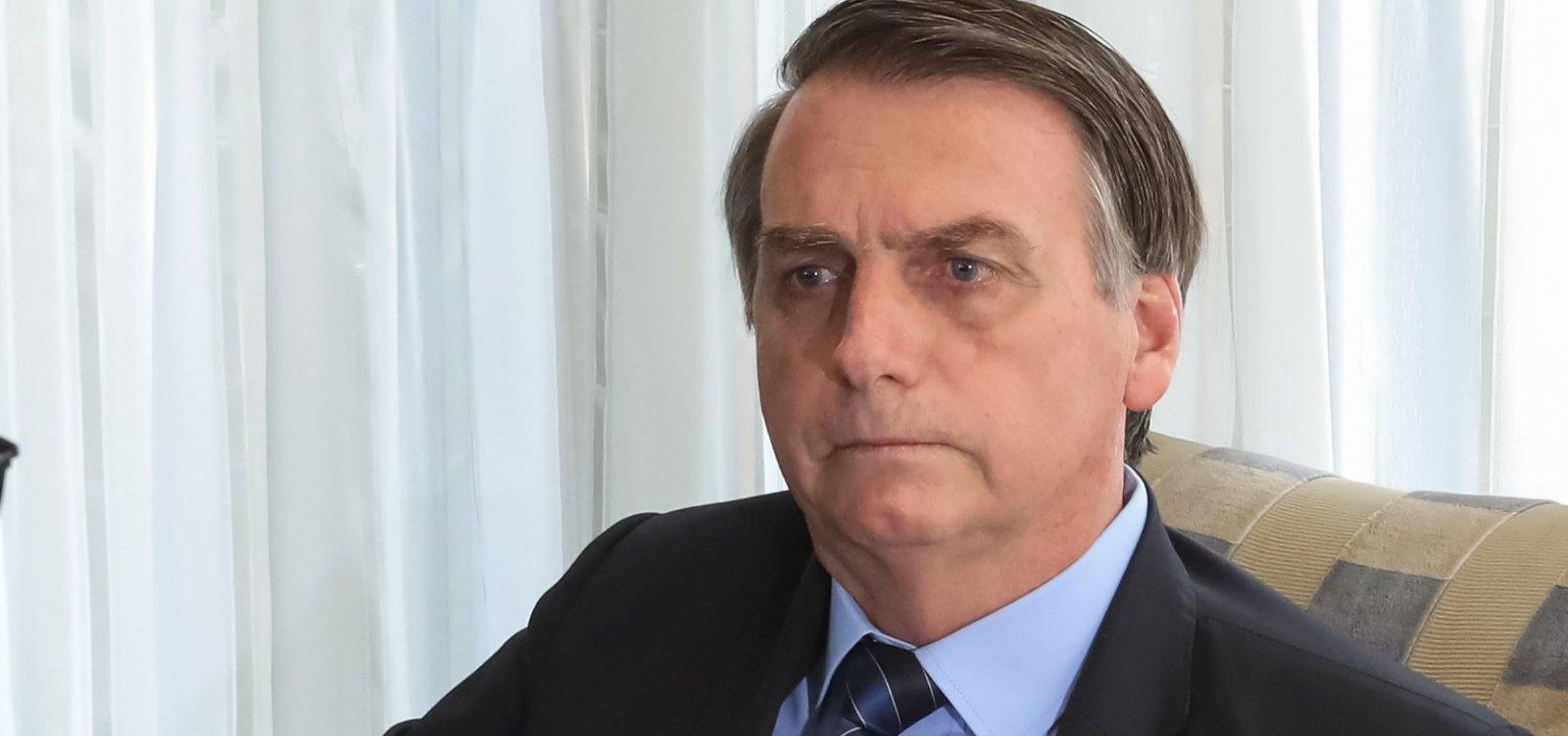[Bolsonaro diz que não irá à posse de Fernández, na Argentina, e nega retaliação]