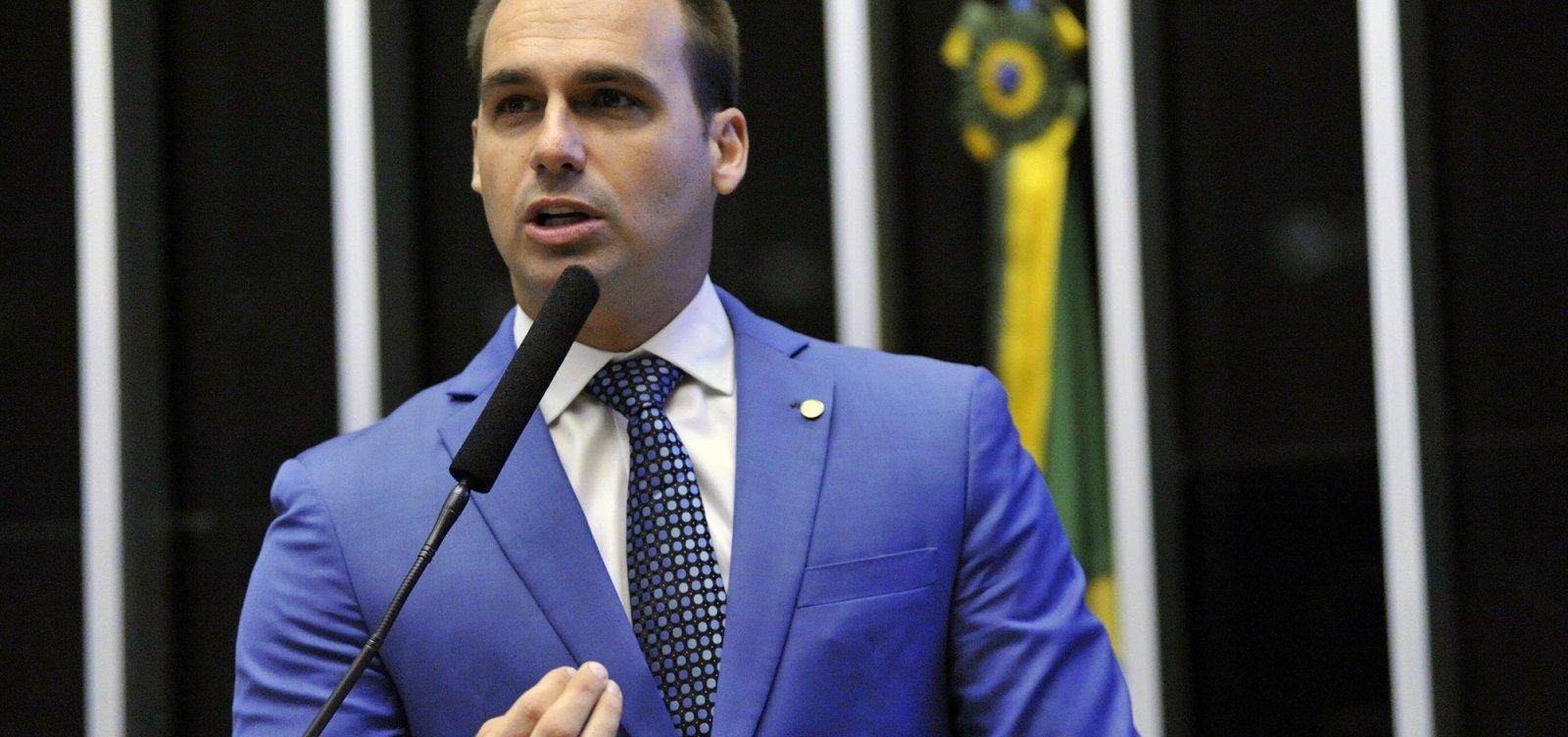 [Eduardo Bolsonaro está protegido por imunidade parlamentar, diz cúpula da PGR]