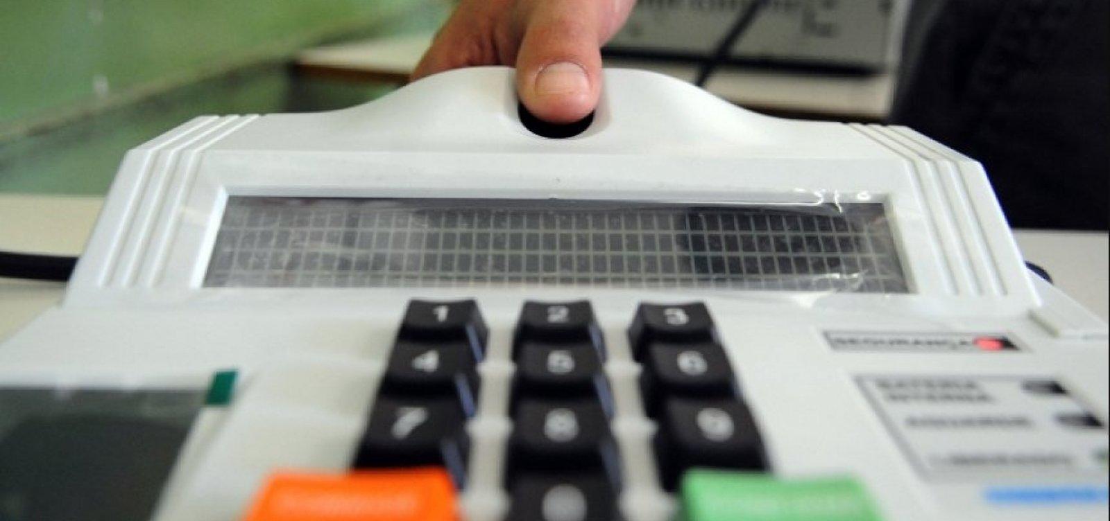 [Mais de 87% dos eleitores baianos fizeram a biometria, diz TRE]