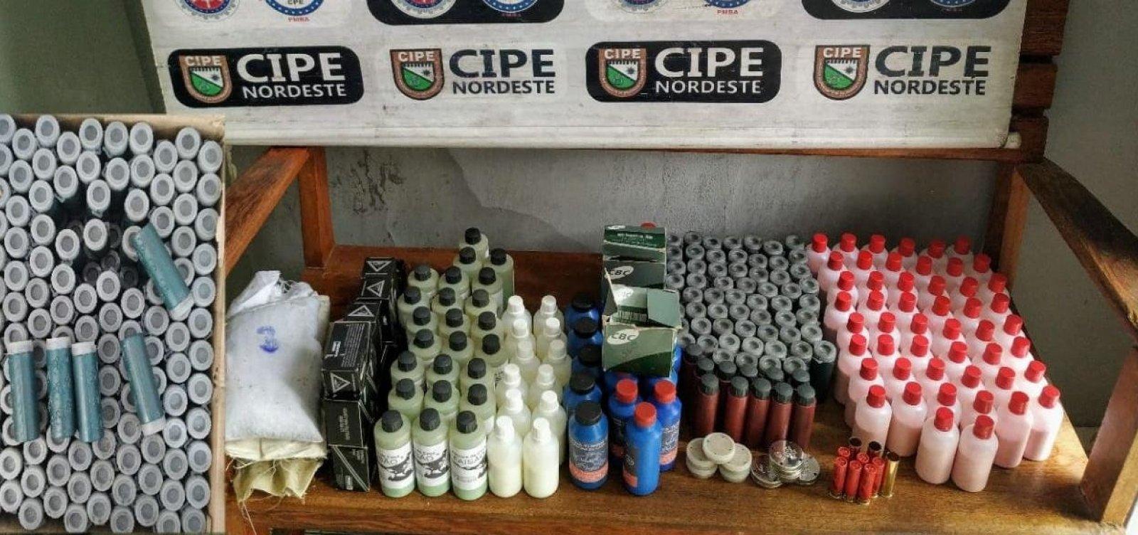 [Fábrica clandestina de munições é desarticulada em Monte Santo]