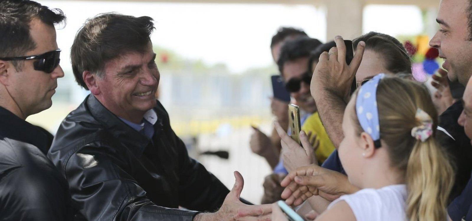 [Bolsonaro sugere lugar de execução da ditadura para servidores de órgãos federais ambientais]