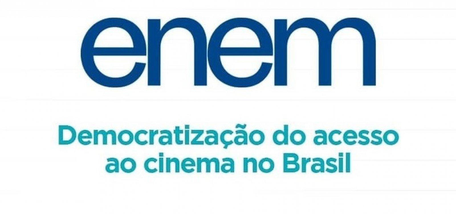 [Redação do Enem 2019 é sobre democratização do acesso ao cinema no Brasil]