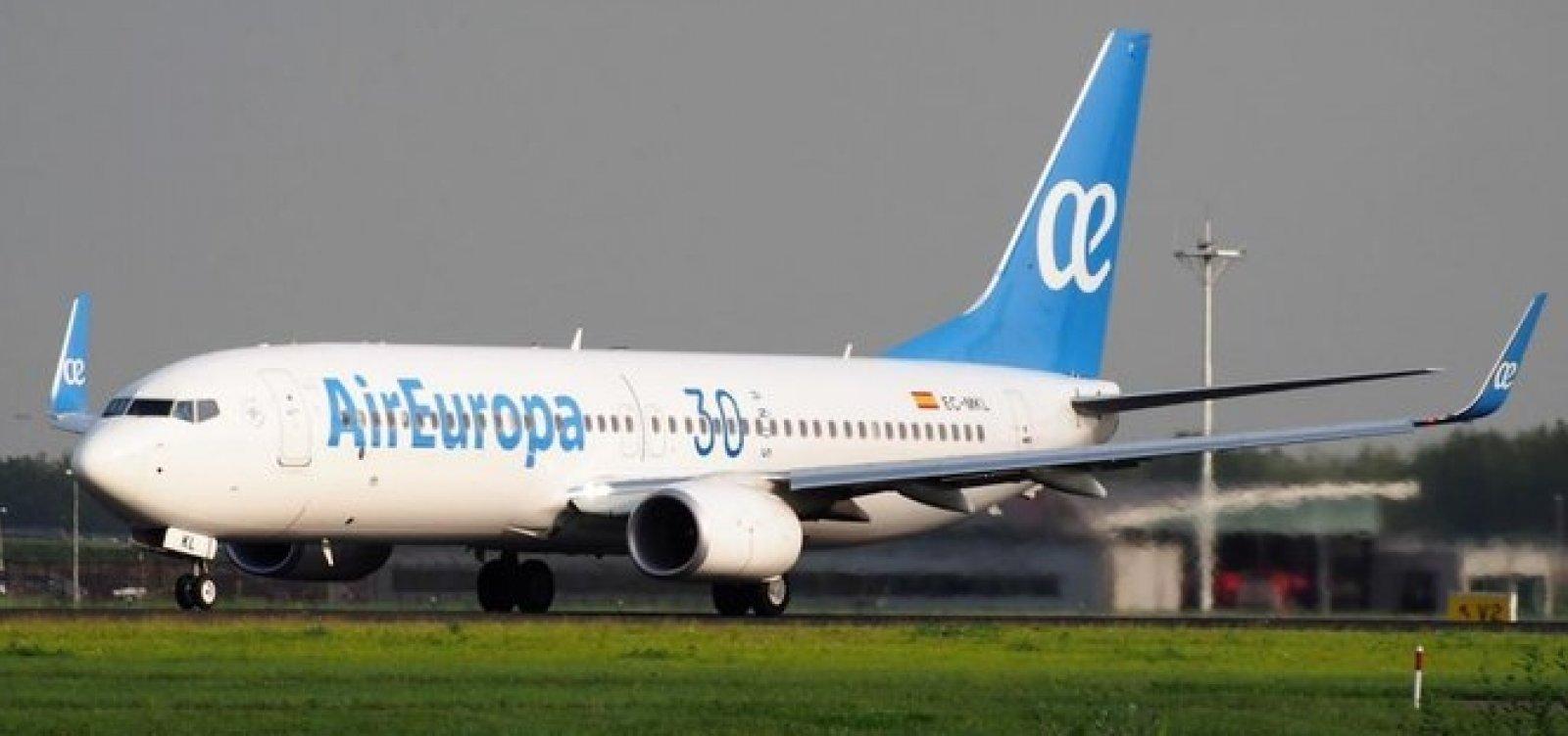 [Air Europa é comprada pela IAG por um bilhão de euros]