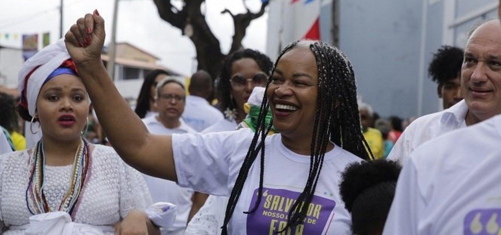 [Olívia Santana é anunciada como pré-candidata do PCdoB à prefeitura de Salvador]