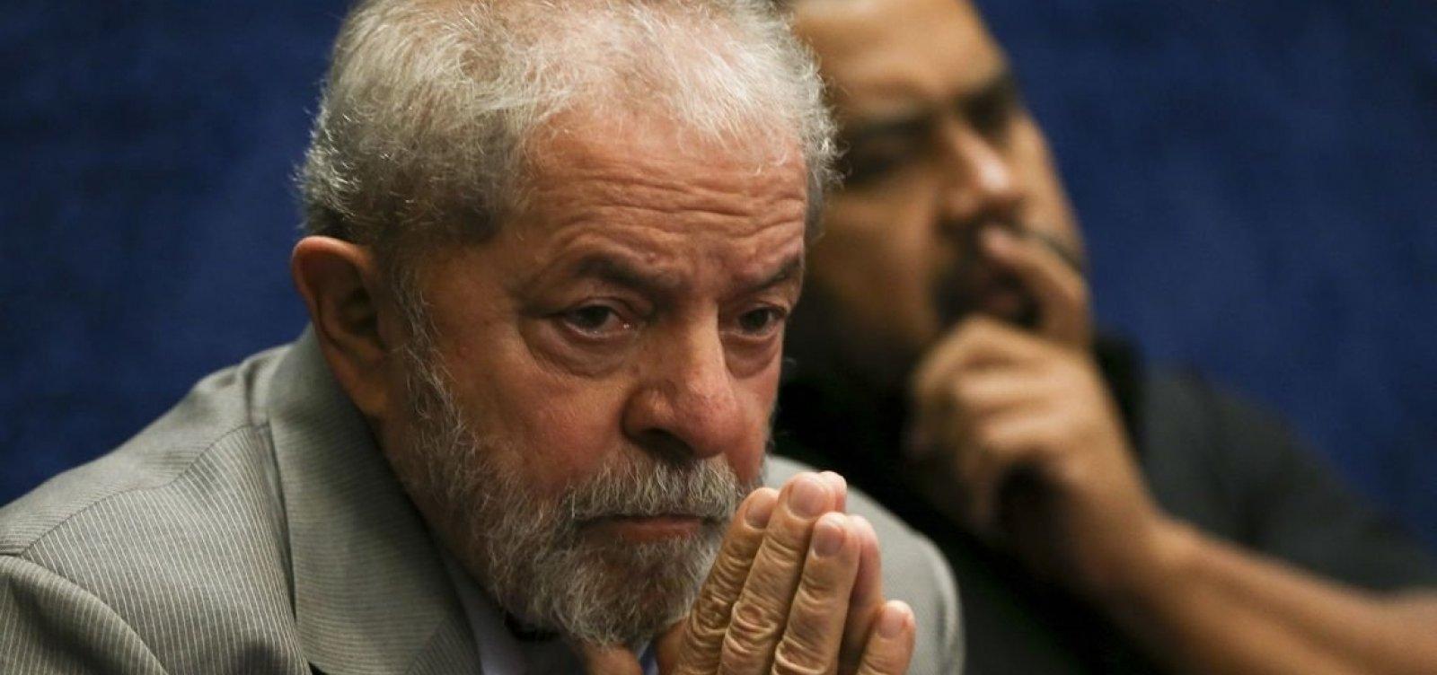 [MPF defende que habeas corpus deve ser negado a Lula em caso envolvendo terreno de instituto]
