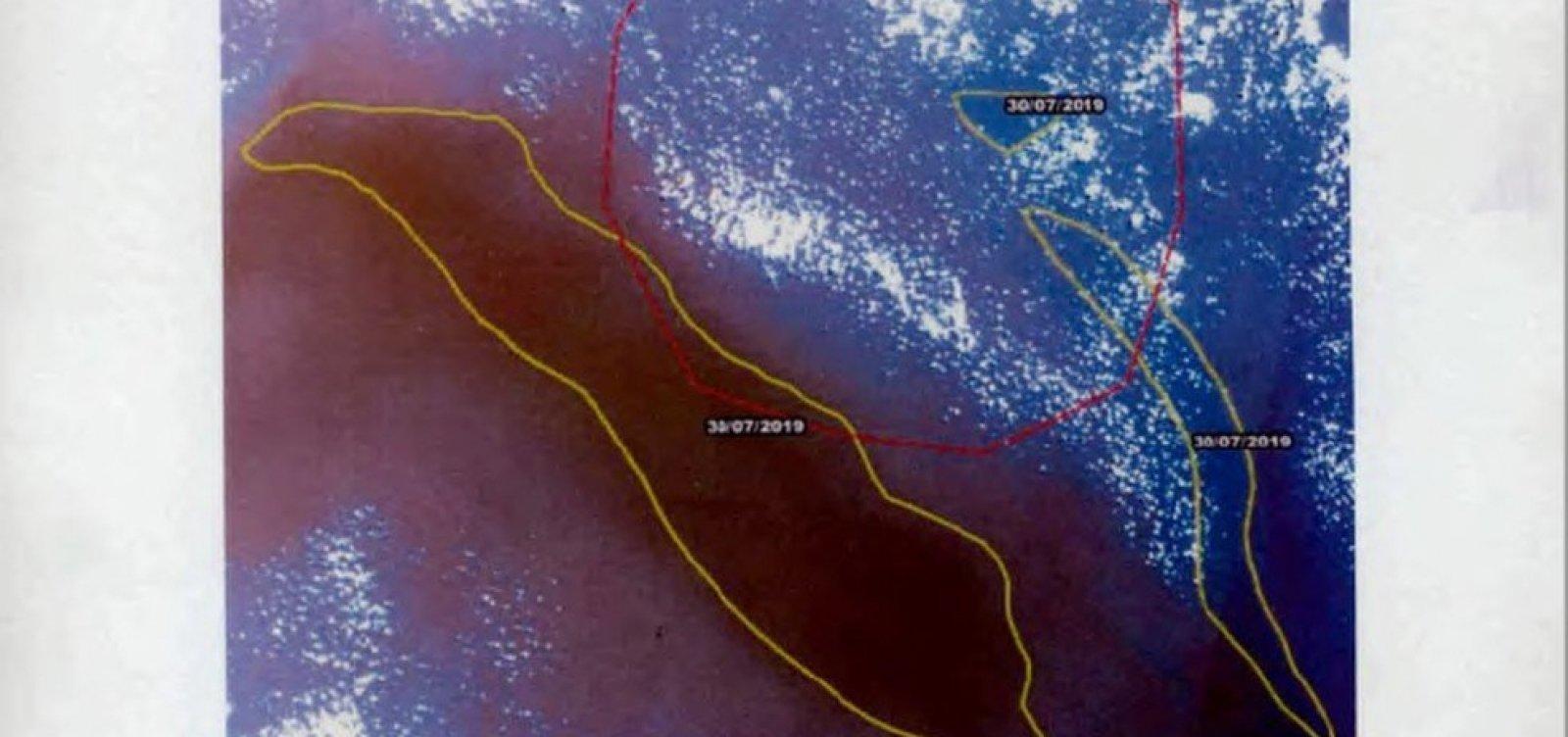 [Parecer do Ibama diz que satélites 'não têm condições' de apontar manchas de óleo no oceano]