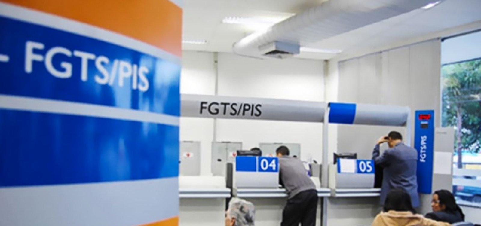 [Comissão aprova aumento de saque do FGTS para R$ 998]