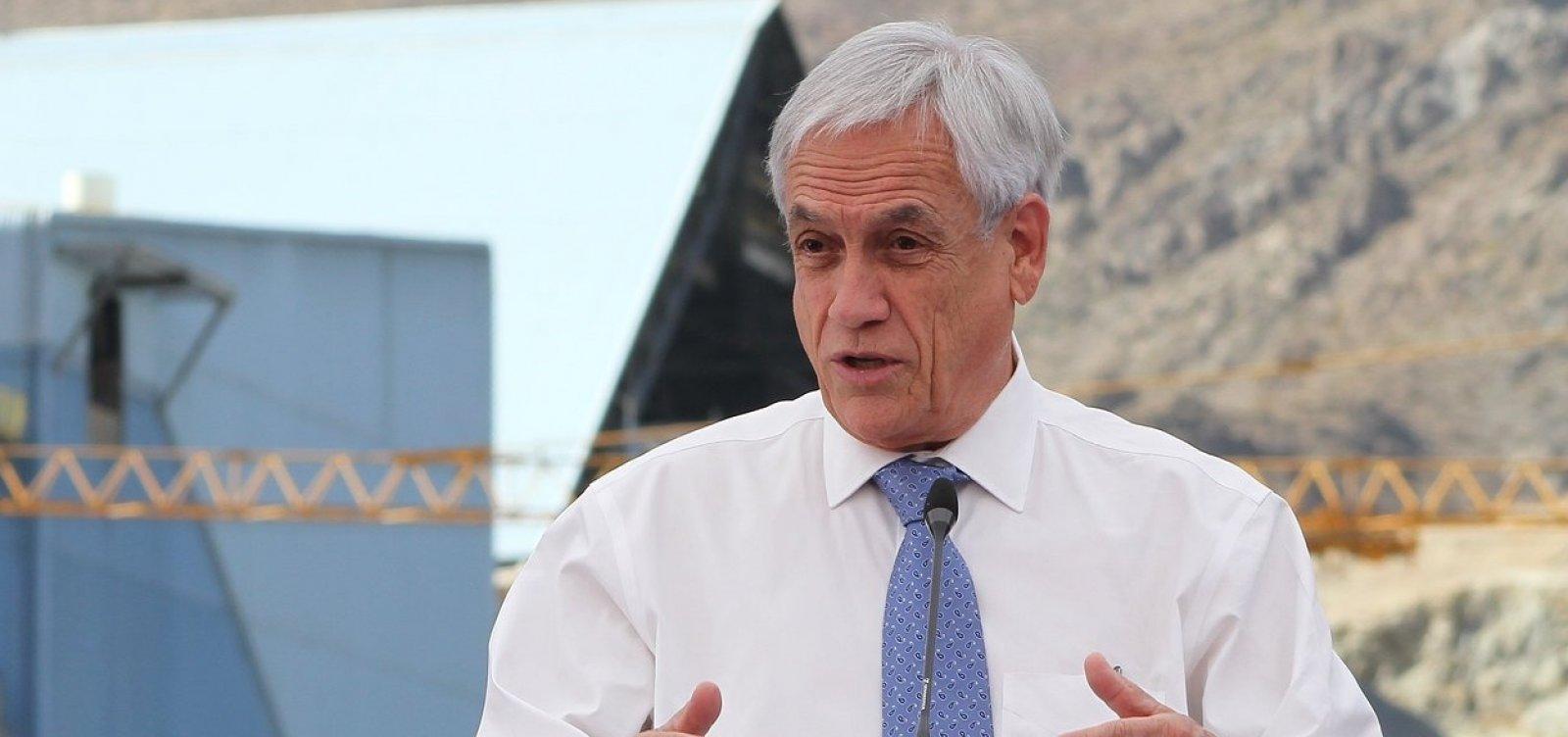 [Com persistência de protestos no Chile, Piñera endurece repressão]