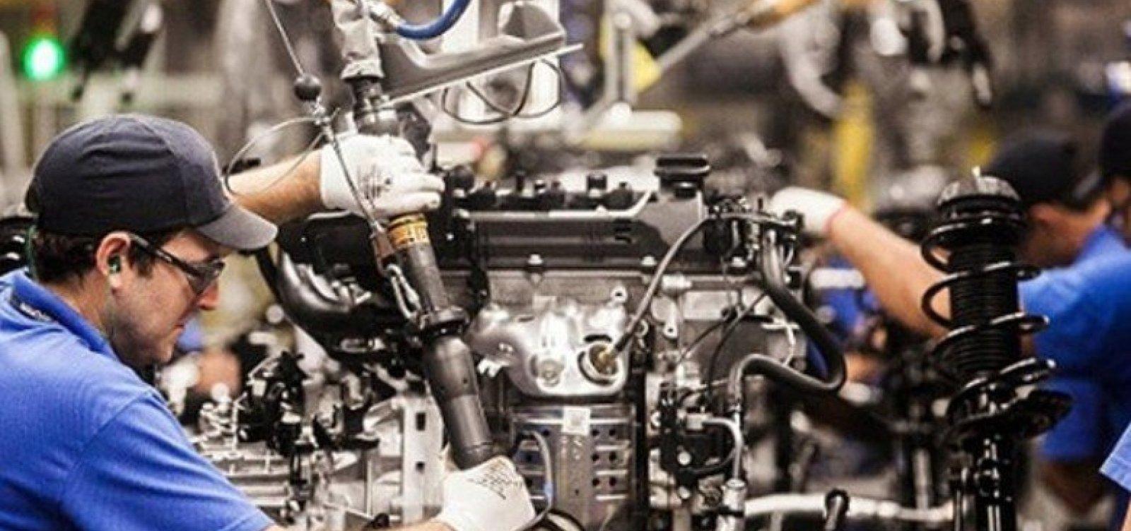 [Produção industrial baiana cresce 4,3% em setembro e tem melhor resultado entre os estados]