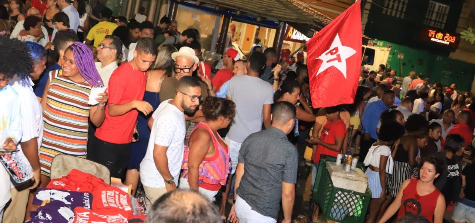 [Em homenagem a Lula, PT baiano organiza comemoração no Rio Vermelho]