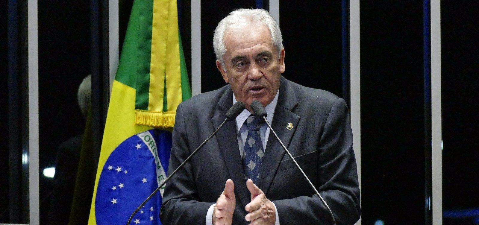 ['Soltura de Lula mostra insegurança jurídica que o Brasil vive', avalia Otto Alencar]