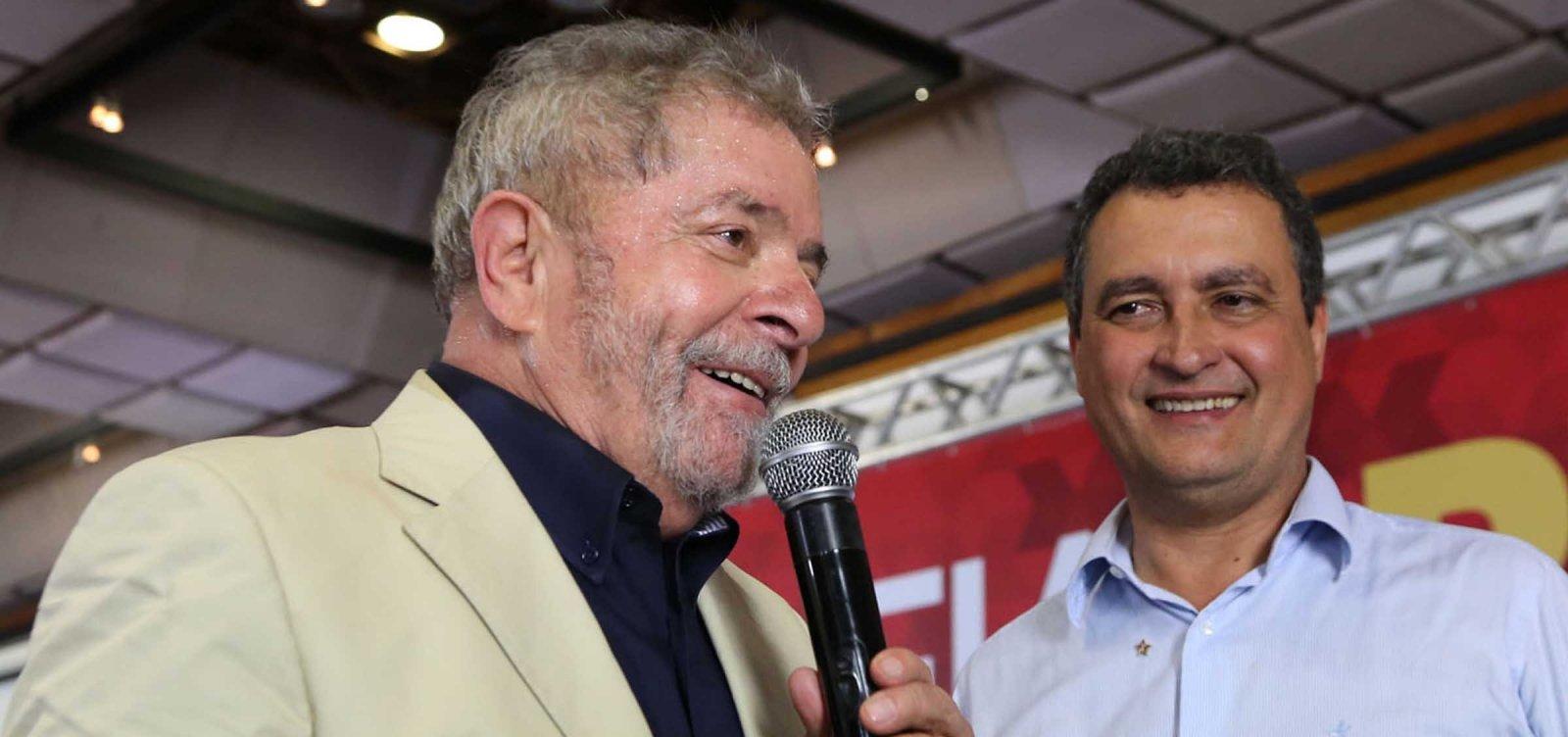 [Após soltura de Lula, Rui diz que 'o mundo aplaude a decisão da Justiça']
