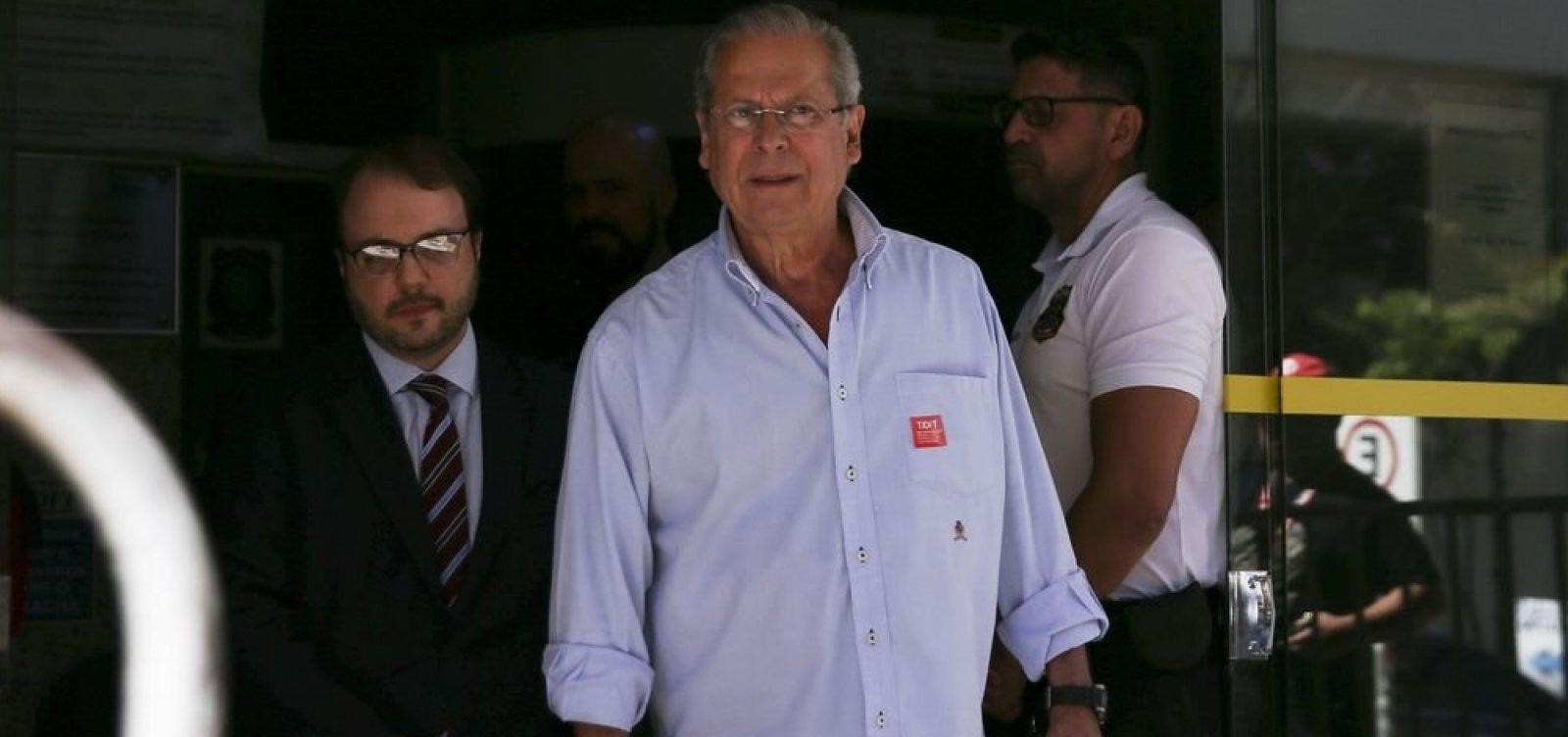 [Ex-ministro José Dirceu é solto após decisão da Justiça]