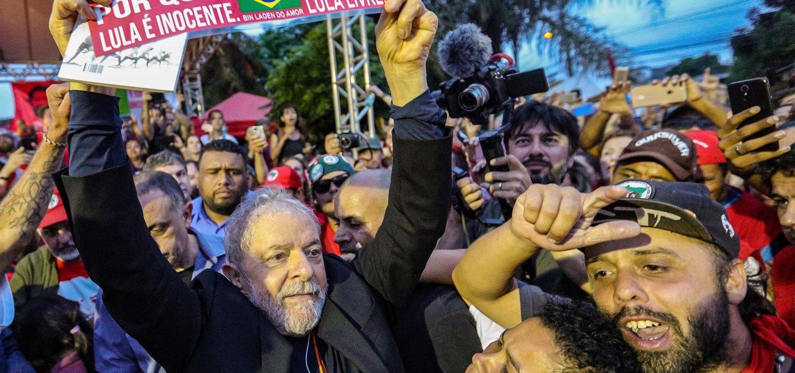 [Lula deve retomar agenda partidária e pode visitar Salvador até o final de ano]