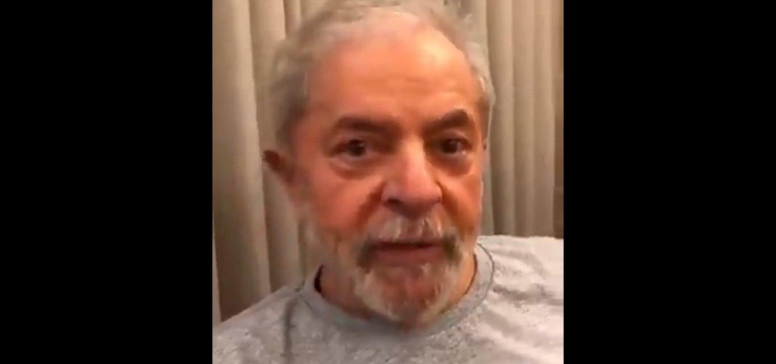 ['Tenho 30 anos de energia e 20 anos de tesão', diz Lula em vídeo nas redes sociais]
