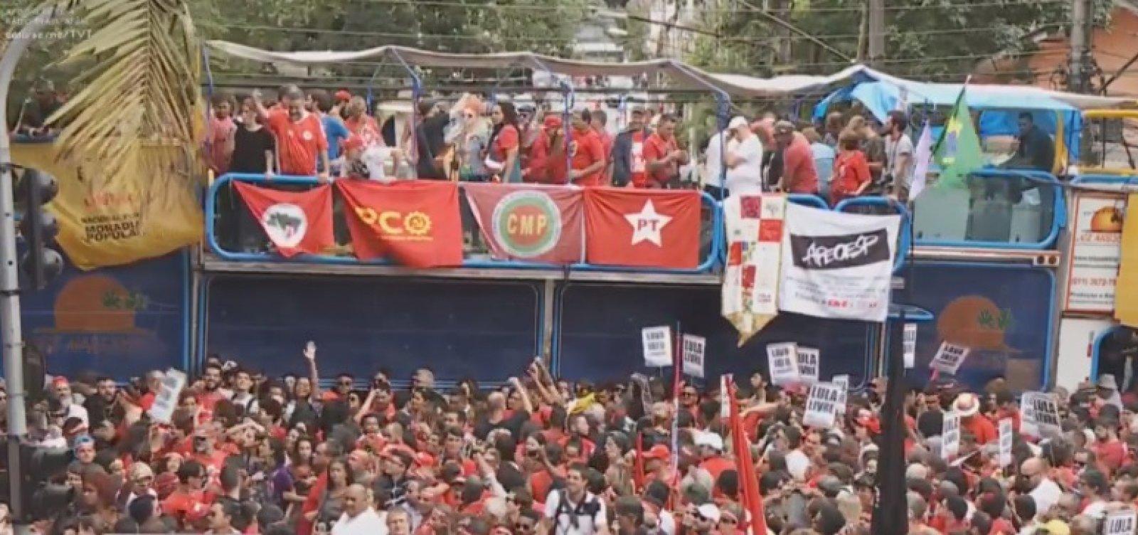 [Ao vivo: Lula chega ao Sindicato dos Metalúrgicos nesta tarde]