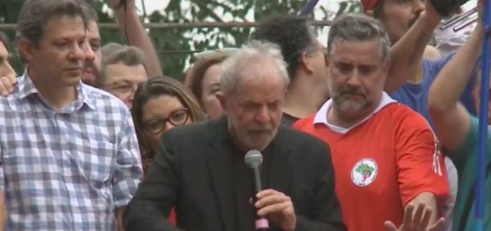 [Lula diz que Bolsonaro 'não foi eleito para governar para milicianos' e cita Marielle]