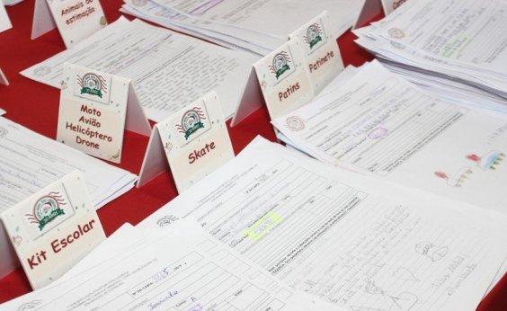 [Cartas da campanha Papai Noel dos Correios podem ser 'adotadas' até dia 6 de dezembro]