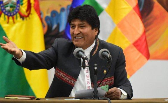 [Forças Armadas pedem que Evo Morales renuncie à presidência]