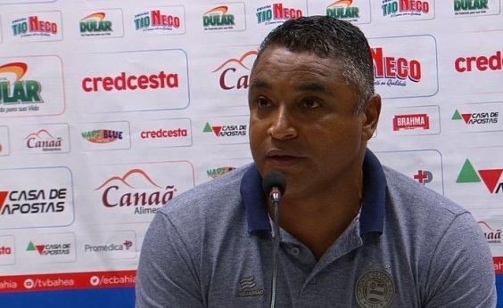 [Roger elogia atuação do Bahia no Maracanã: 'Em 70% da partida fizemos um jogo de altíssimo nível']