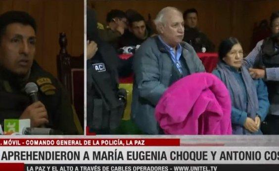 [Após renúncia, ex-presidente do Supremo Tribunal Eleitoral da Bolívia é presa]